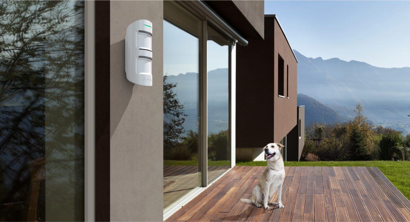 Detector de moviment Alarma Ajax | Serveis Telemàtics Palamós