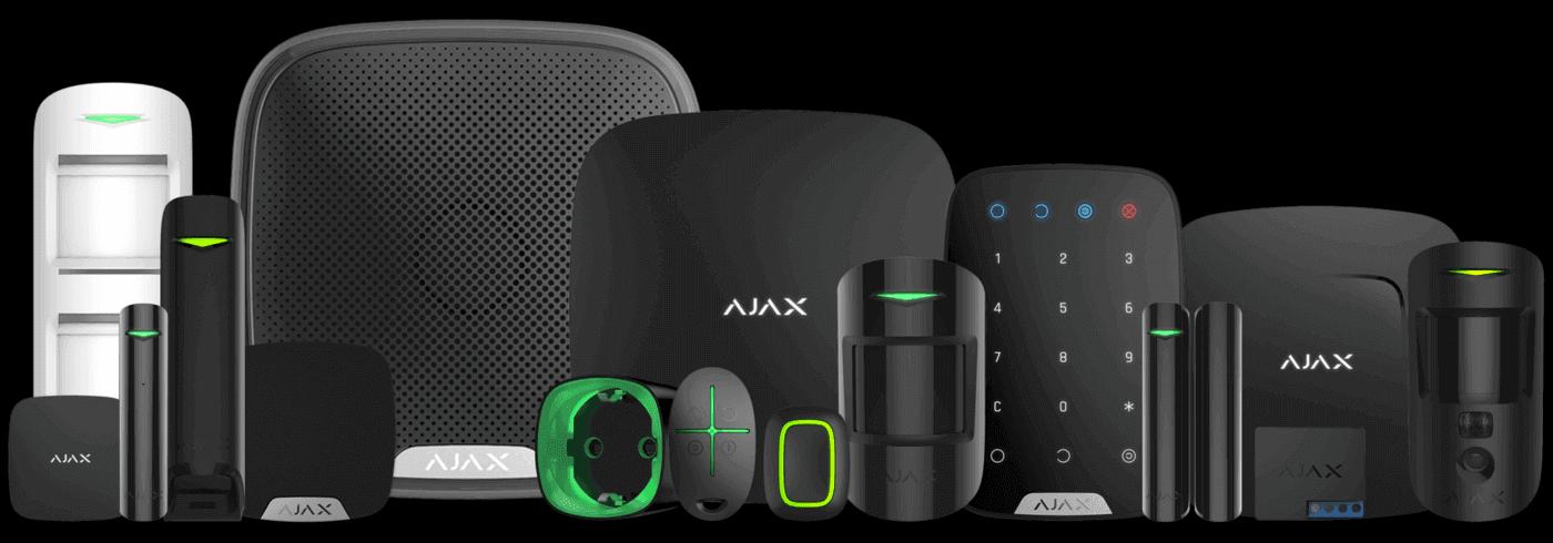 productes sistema alarma ajax